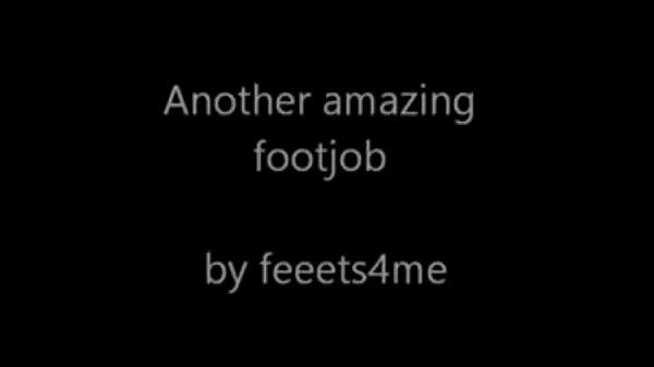 Amazing Footjob