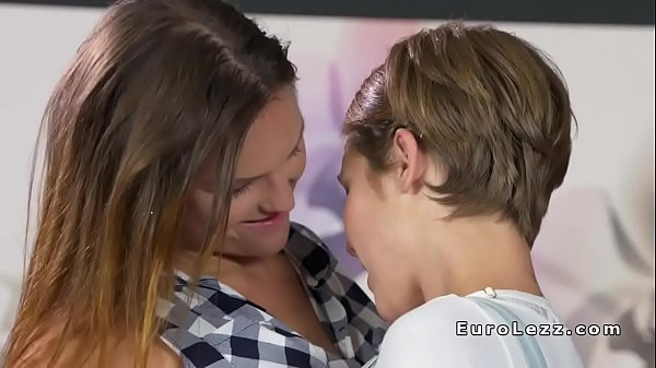 Beautiful pierced brunette lesbians lick