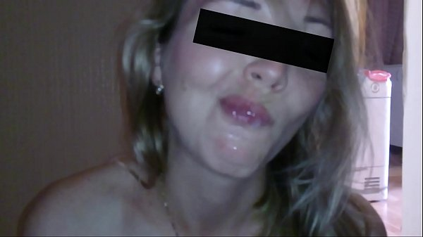 Blowjob from my wife with the final in the mouth