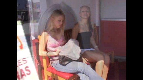 Boyfriend films Blonde Lesbians Brea Bennett & Haley Jade