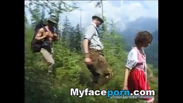 extreme threesome sex in nature – MyFacePorn.com