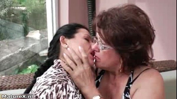 Hot busty and mature lesbians getting