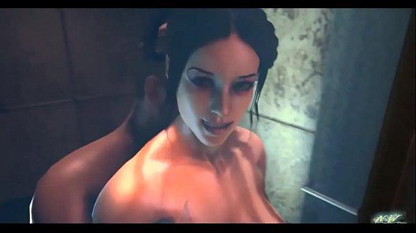 Hot Shower Kitana Mortal Kombat NightWanderer d hentai sex games
