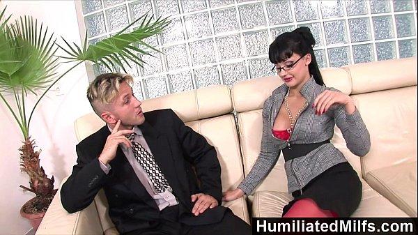 HumiliatedMilfs – Horny secretary loves a cock up her ass