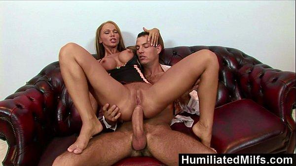 HumiliatedMilfs – Krisztina makes her ass gape for a massive dick