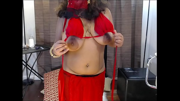 Indian Amateur wife masturbating on webcam
