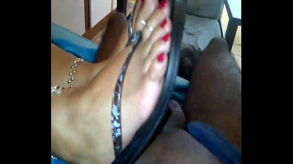 Indian footjob