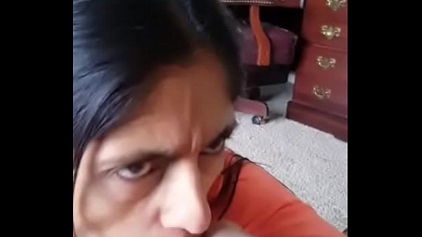 Indian mature wife blowjob