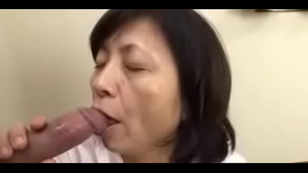 Japanese Granny Sucks Swallows & Squirts