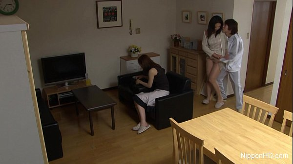 Japanese teen takes a cock