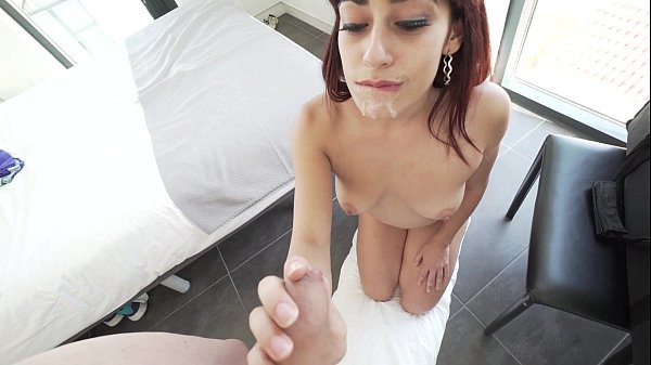 Lucia Nieto,amazing homemade Footjob & Blowjob