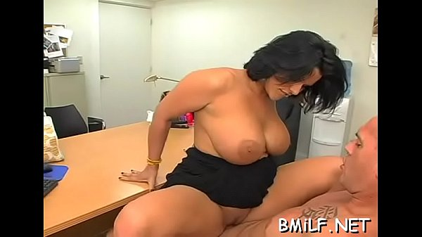 Milf stuffed with large cock