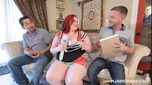 Sexy BBW Ellza Allure Gets DP'ed by  Huge Cocks