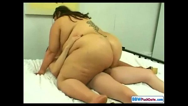 Sexy Russian BBW and Skinny Guy