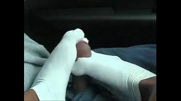 Sockjob in car