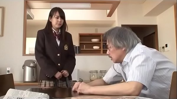Tight Japanese SchoolGirl Whore Abused & Fucked By Dad And Friend