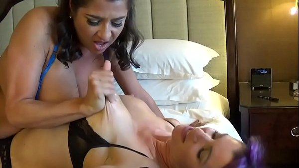 Tit Slapping Dirty Talking Lesbians