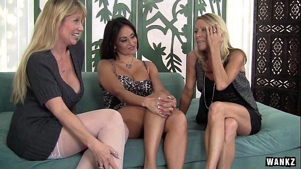 WANKZ- Three Stacked MILFs Slut Up