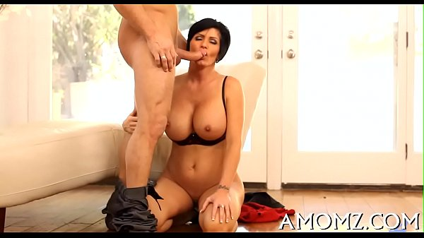 Wicked mama rides to get orgasm